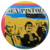 Sex Pistols - 'Early Daze' Button Badge